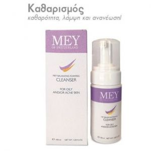 Mey Balancing Foaming Cleanser Αφρός Καθαρισμού για Λιπαρές & με Προβλήματα Ακμής Επιδερμίδες, 100 ml
