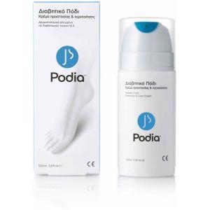 Podia Diabetic Foot Protection & Care Cream Κρέμα Προστασίας και Περιποίησης Ποδιών 100ml
