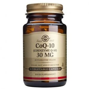 Solgar Vegetarian CoQ-10 30mg, 30veg.caps