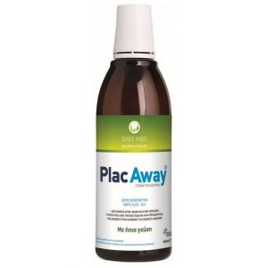 Plac Away Daily Care Στοματικό Διάλυμα 500ml 'Ηπια Γεύση