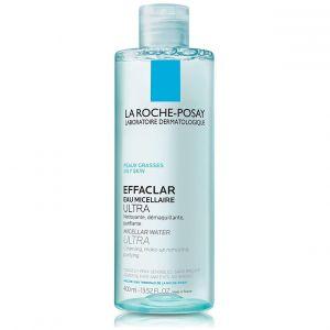 La Roche Posay Effaclar Eau Micellaire Ultra, Oily Sensitive Skin, 400ml