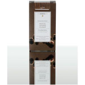 Korres Βαφή ARGAN OIL Advanced Colorant 6.77 Πραλίνα