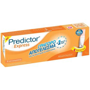 Predictor Express Τεστ Εγκυμοσύνης 1Τμχ