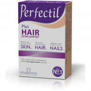 Vitabiotics Perfectil Plus Hair Extra Support, Υγιή Μαλλιά, Δέρμα & Νύχια 60 tabs