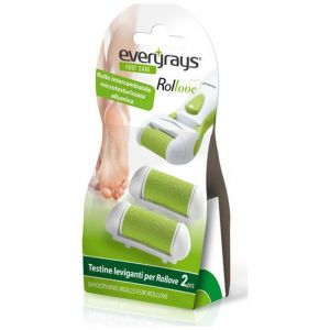 Everyrays Foot Care rollove Ανταλλακτικά Ρολλά, 2τμχ