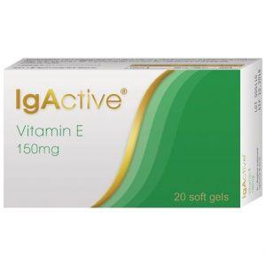 IgActive Vitamin E 150mg, 20softcaps