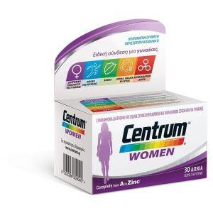 Centrum Women Complete form A to Zinc, 30 tabs