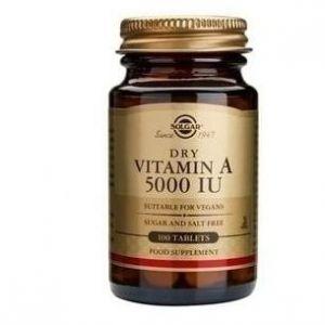 Solgar Vitamin A 5000 IU, 100tabs