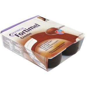 Nutricia Fortimel Creme με γεύση Σοκολάτα, 4x125gr
