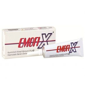 Pharmaq Emofix Ointment Αιμοστατική Αλοιφή, 30 gr