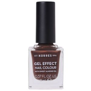 Korres Gel Effect Nail Colour With Sweet Almond Oil, No.61, Seashell, 11ml