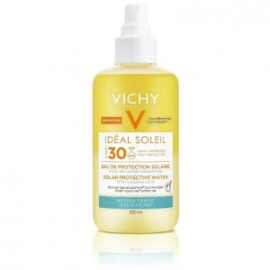 Vichy Ideal Soleil SPF30 Νερό Προστασίας Από τον Ήλιο με Υαλουρονικό Οξύ για Ενυδάτωση 200ml
