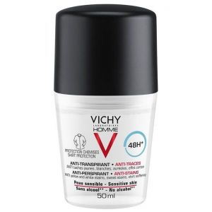 Vichy Homme Deo Anti-Stains 48h, 50ml