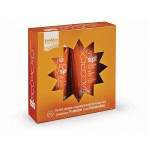 Intermed Luxurious Sun Care Πακέτο Προσφοράς με Face Cream SPF50, 75ml & Body Cream SPF30, 200ml