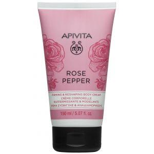 Apivita Rose Pepper Firming & Reshaping body cream, 150ml