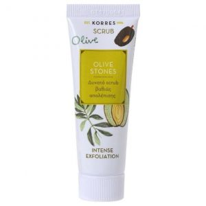 Korres Olive Stones Ιntense Exfoliation, Δυνατό Scrub Βαθιάς Απολέπισης 18ml