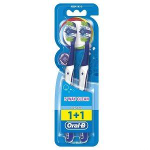 Oral-B Complete Clean 5 Way 40 Medium, 2τμχ