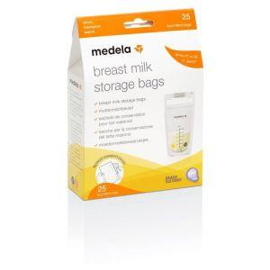 Medela Breast Milk Storage Bags 25τμχ