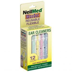 NEILMED WaxOut Ear Cleaners 12 Τεμάχια