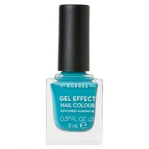 KORRES GEL EFFECT Nail Colour Pool Waves No 82 11ml