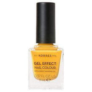 KORRES GEL EFFECT Nail Colour Sunshine No 91 11ml