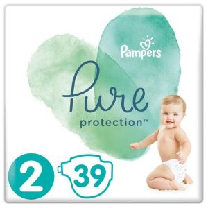 Pampers Pure Protection No2 (4-8kg), 39τμχ