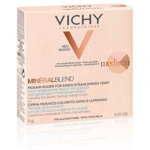 Vichy Mineralblend Healthy Glow Tri-Colour Powder Medium, 9gr