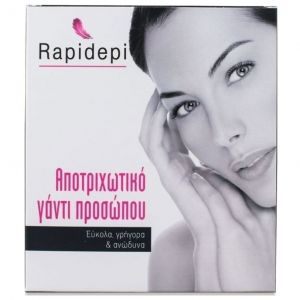 Vican Rapidepi, Αποτριχωτικό γάντι προσώπου, 1 γάντι + 2 ανταλλακτικά
