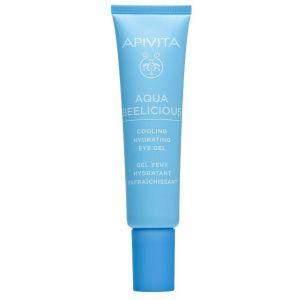 Apivita Aqua Beelicious Δροσιστικό Gel Ενυδάτωσης για τα Μάτια, 15ml