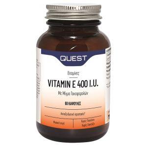 Quest Naturapharma Vitamin E 400iu, 30caps