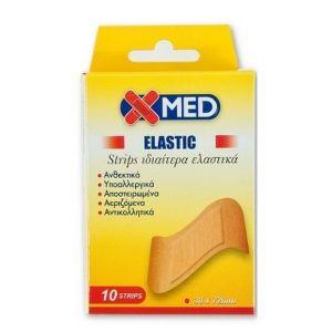 Medisei X-Med Strips, 38x72Mm, 10τμχ