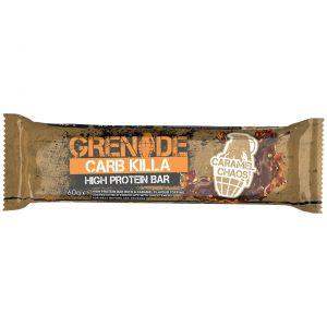 Grenade Carb Killa Μπάρες Υψηλής Πρωτεΐνης Caramel Chaos, 60gr