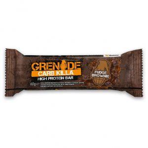 Grenade Card Killa Μπάρες Υψηλής Πρωτεΐνης Fudge Brownie, 60gr