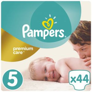 Pampers Premium Care Jumbo Pack Πάνες No5 (11-18kg) 1+1, 2x44τμχ