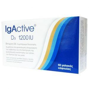 IgActive D3 1200iu, 60softgels