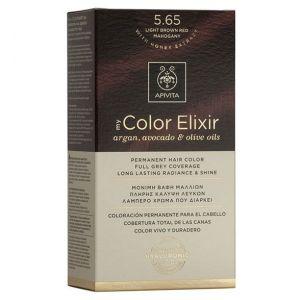 Apivita My Color Elixir Βαφή Μαλλιών N5.65, 1τμχ