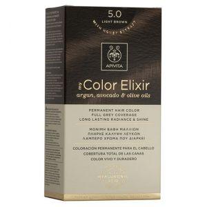 Apivita My Color Elixir Βαφή Μαλλιών N5.0, 1τμχ