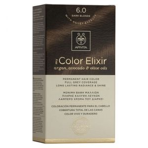 Apivita My Color Elixir Βαφή Μαλλιών N6.0, 1τμχ