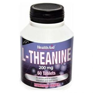 Health Aid L-Theanine 200mg, 60tabs