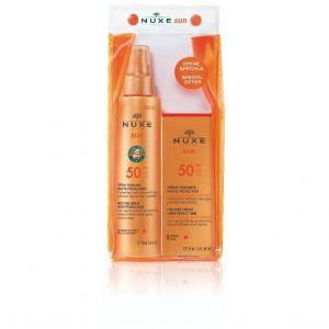 Nuxe Special Offer Sun Melting Cream High Protection SPF50, 50ml & Nuxe Sun Melting Spray High Protection SPF50, 150ml