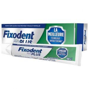 Fixodent Pro Plus Antibacterial Technology Στερεωτική Κρέμα για Τεχνητή Οδοντοστοιχία, 40gr