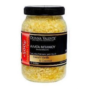 Donna Valente Thalassotherapy Bath Salts Vanilla, 1100gr