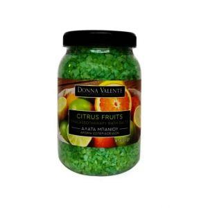 Donna Valente Thalassotherapy Bath Salts Citrus Fruit, 1100gr
