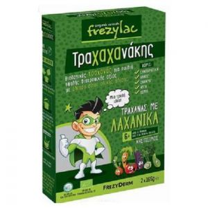 Frezyderm Frezylac Τραχαχανάκης, Βιολογικός Τραχανάς με Λαχανικά, 6m+, 2x165gr