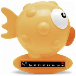 Chicco Bath Thermometer Θερμόμετρο Μπάνιου Κίτρινο Ψαράκι, 1τμχ