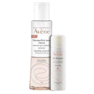 Avene Demaquillant Yeux Intense, 125ml & ΔΩΡΟ Thermal Spring Water, 50ml