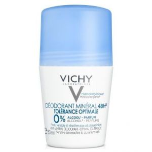 Vichy Deodorant Mineral 48H Roll On Tolerance Optimale, 50ml