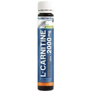 My Elements Sports L-Carnitine 2000mg Πορτοκάλι, 20ml