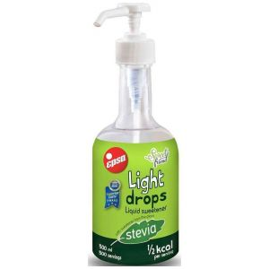 Epsa Light Drops, Γλυκαντικό Με Stevia, 500ml