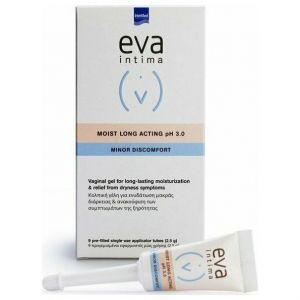 Intermed Eva Intima Minor Discomfort Moist Long Acting pH 3.0, 2.5gr, 9τμχ